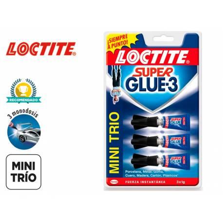 Pegamento loctite Super Glue -3 mini