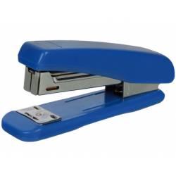 Grapadora de plastico Q-Connect Azul Capacidad 25 Hojas