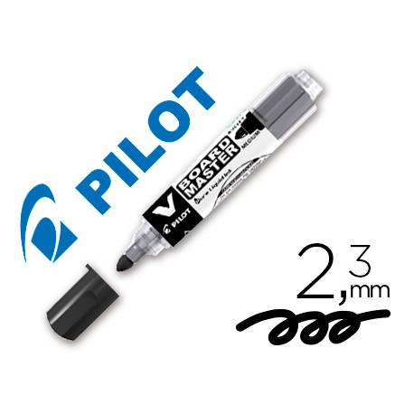 Rotulador Pilot Vboard Master color negro