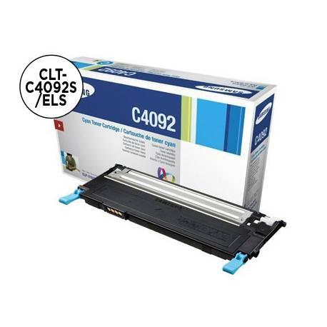 Tóner Samsung CLT-C4092S/ELS Cian