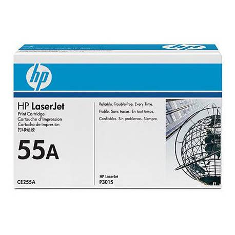 Toner HP 55A CE255A color Negro