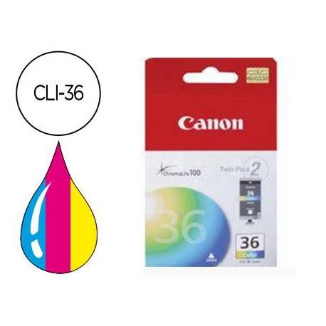 Cartucho Canon 1511B001 Nº CLI-36 Tricolor