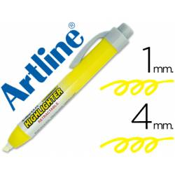 Rotulador Artline clix color amarillo fluorescente 4mm