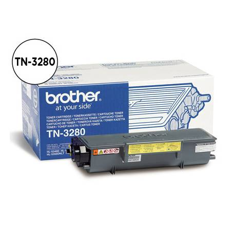 Toner Brother TN-3280 color Negro