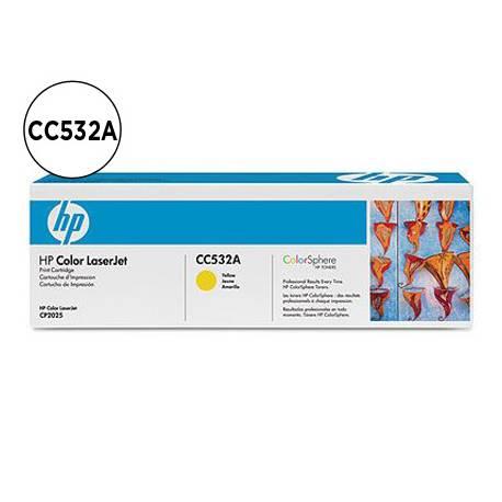 Toner HP 304A CC532A color Amarillo