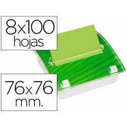 Dispensador notas adhesivas verdes Post-it ® Millenium