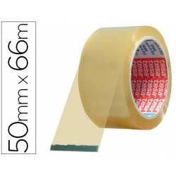 Cinta adhesiva tesa pvc transparente 66mtsx50mm