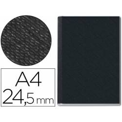 Tapa de Encuadernación Cartón Leitz DIN A4 Negra 245 hojas