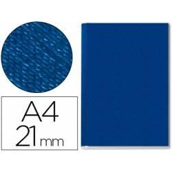 Tapa de Encuadernación Cartón Leitz DIN A4 Azul 210 hojas