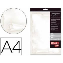 Papel tematico marca Apli DIN A4 pergamino