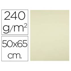 Cartulina Liderpapel color amarillo palido 240 g/m2