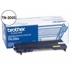 Toner Brother TN-2005 color Negro