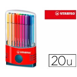 Rotulador Stabilo Pen 68 Estuche de 20 unidades