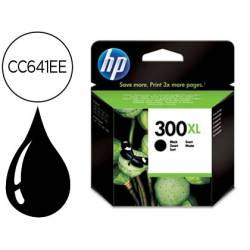 Cartucho HP 300XL color negro CC641EE