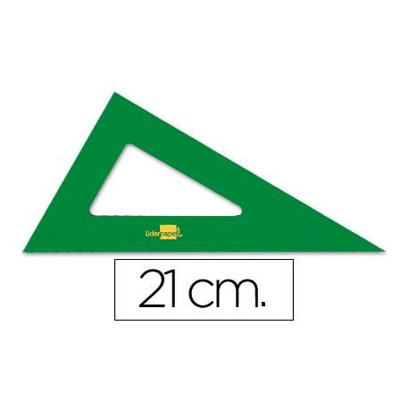Cartabon acrilico marca Liderpapel 21 cm