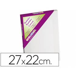 Bastidor Lienzo marca Lidercolor 27x22 cm