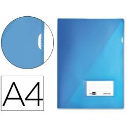 Funda dossier uñero con solapa Liderpapel Din A4 color azul