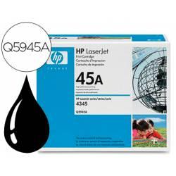 Toner HP 45A Q5945A color Negro