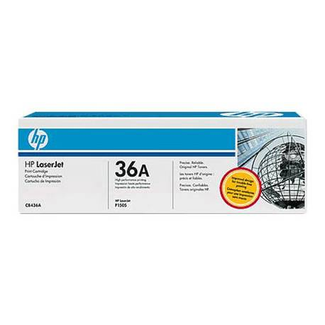 Toner HP 36A CB436A color Negro