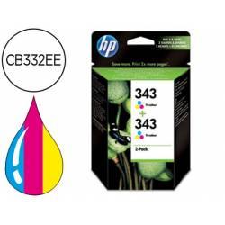 Cartucho marca HP 343 Tricolor CB332EE