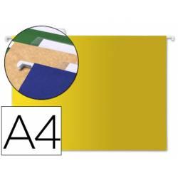 Carpeta colgante marca Liderpapel A4 Kraft Amarillo