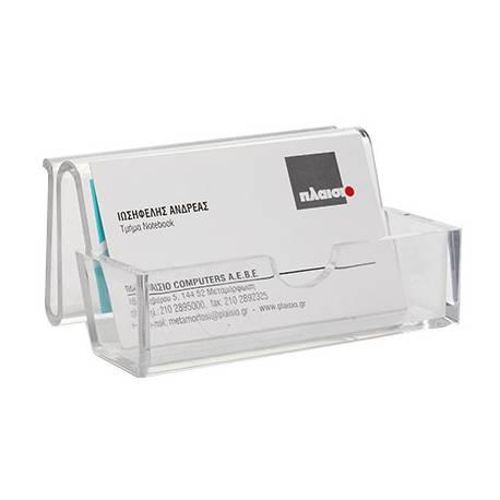 Portatarjetas de visita Q-connect metacrilato