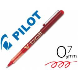 Rotulador roller Pilot V-Ball 0,5 mm Rojo