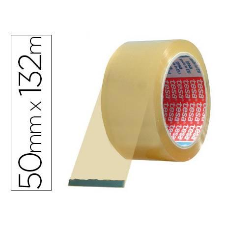 Cinta adhesiva polipropileno marca Tesa 132 m x 50 mm