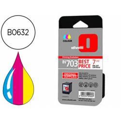 Cartucho Olivetti B0632 Nº IN703 Tricolor