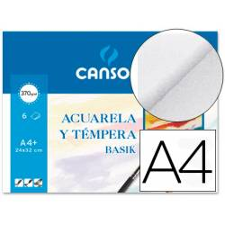 Papel acuarela Canson Din a4+ gramaje 370 g/m2