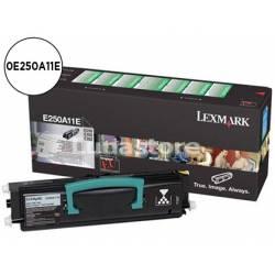 Tóner Lexmark 0E250A11E color Negro