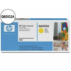 Toner HP 124A Q6002A color Amarillo