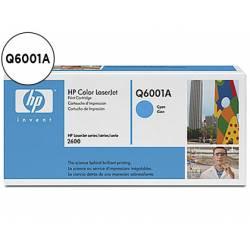 Toner HP 124A Q6001A color Cian