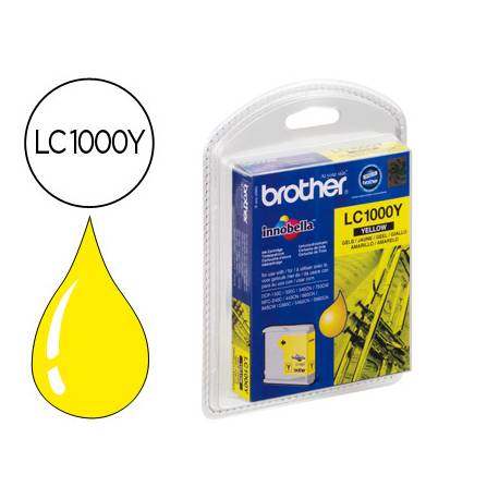 Cartucho Brother LC-1000Y Amarillo