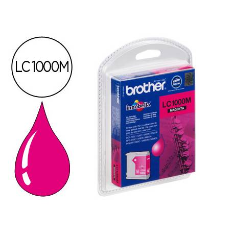 Cartucho Brother LC-1000M Magenta