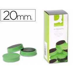 Imanes de sujecion verde Q-Connect