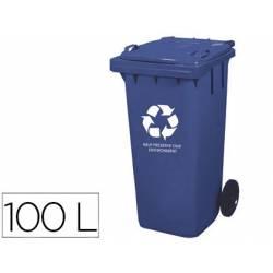 Contenedor de plastico Q-Connec de 100 L