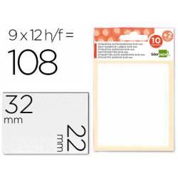 Etiquetas Adhesivas marca Liderpapel Obsequio 22 x 32 mm
