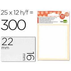 Etiquetas Adhesivas marca Liderpapel Obsequio 16 x 22 mm