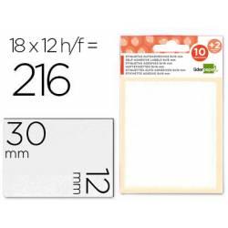 Etiquetas Adhesivas marca Liderpapel Obsequio 12 x 30 mm