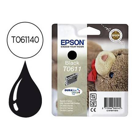 Cartucho Epson T061140 Negro