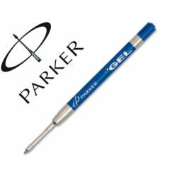 Recambios boligrafos Parker tinta gel azul