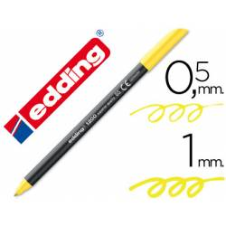 Rotulador Edding 1200 neon amarillo nº 65