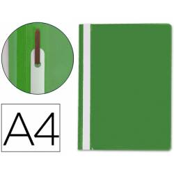 Carpeta dossier fastener Q-Connect Din A4 color verde