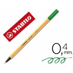 Rotulador Stabilo point 88/43 Verde claro