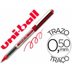 Rotulador-bolígrafo Uni-Ball rojo UB-150 0,3 mm