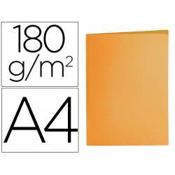 Subcarpeta cartulina Din A4 Liderpapel color naranja intenso 185 g