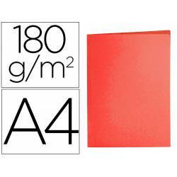 Subcarpeta cartulina Din A4 Liderpapel color rojo