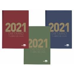 DIETARIO LIDERPAPEL 15X21,5 CM 2021 CUARTO PAPEL 70 GR