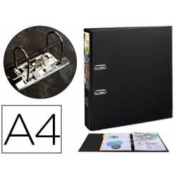 Archivador de palanca Exacompta Prem Touch DIN A4+ Lomo 80 mm color Negro